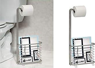 support sopalin /à fixer sans percer blanc InterDesign Axis porte essuis-tout cuisine derouleur essuietout de porte en m/étal /à rouleaux de 27,9 cm