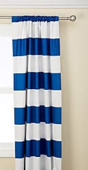 Ellery Homestyles ECLIPSE Blackout Curtains for Bedroom - Peabody 42 x 63 Insulated Darkening Single Panel Rod Pocket Window Treatment Living Room, Blue