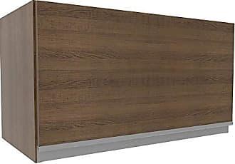 Madesa Armário Aéreo Madesa Glamy 60 cm 1 Porta - Rustic