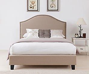 Boraam Beverley Bed Set, King, Beige