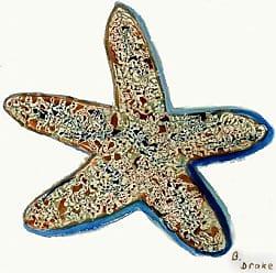 Betsy Drake CT604 Starfish Coaster, Set of 4
