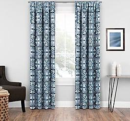 Ellery Homestyles Eclipse Islington Room Darkening Single Room Darkening Window Curtain, 37x95, Indigo