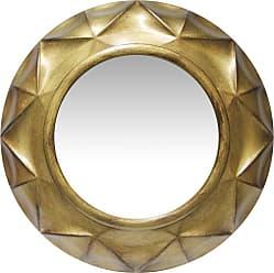 Infinity Instruments Gold Vigil Mirror - 20 diam. in. - 15383AG