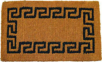 Geo Crafts Imperial Greek Key Doormat, 30 by 48-Inch, Green