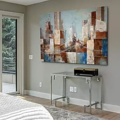 WEXFORD HOME Cityscape - Gallery Wrapped Canvas Art Print 24 x 32 Multicolor