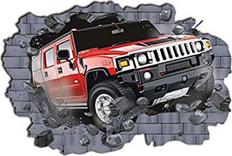 Zoo Adesivo de Parede Decorativo Jeep Hummer Menino Homem