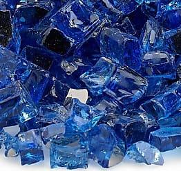 TK Classics Cobalt Blue 1/2 Reflective Fireglass - 10 lb bag