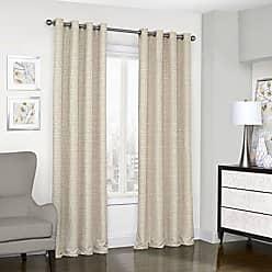 Ellery Homestyles KOZDIKO Eclipse Trevi Classic Grommet Single Window Curtain Panel, 52 x 84, Natural