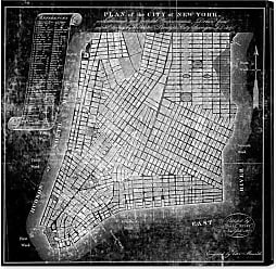 Hatcher & Ethan Hatcher and Ethan Map of the City of NY 1871 Canvas Wall Art - HE10807_43X43_CANV_XXHD_HE