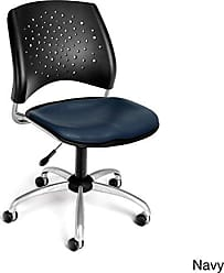 OFM 326-VAM-DK-605 Stars Swivel Vinyl Chair with Drafting Kit