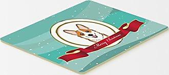 20 x 30 Carolines Treasures BB2567CMT Christmas Presents Between Friends Cocker Spaniel Red Kitchen or Bath Mat Multicolor