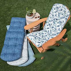 Belham Living New Harbor Outdoor Adirondack Chair Cushion Indigo Stripe - NEW HAVEN40