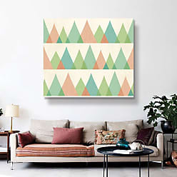 Brushstone Southwest Geo Step 10A by Veronique Charron Gallery Wrapped Canvas, Size: 24x32 - 2CHA102D2432W