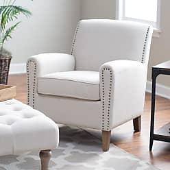 Belham Living Nala Arm Chair with Nailheads Gray - 2281-GRAY