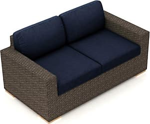 Harmonia Living Arden Wicker Outdoor Loveseat - HL-ARD-CH-LS-IN