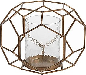 Zodax 8 Tall Caged Hurricane Candle Holder