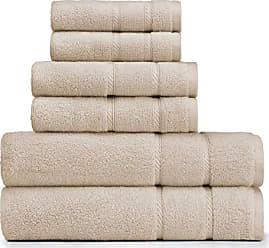 Revman International Nautica Belle Haven Towel Set, 54 x 30, Beige