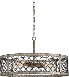 Quoizel Booth 22.75 5-Light Pendant in Rustic Gold