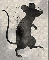 Hatcher & Ethan Rat Silhouette Canvas Wall Art - 14858_17X20_CANV_XHD_HE