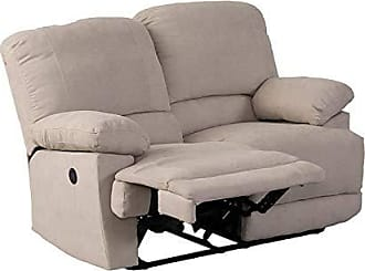 CorLiving LZY-362-L Lea Collection Reclining Loveseat Beige