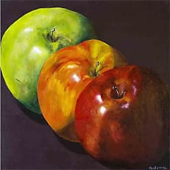 Louis Leonard Art Three Apples by Cheryl Parsons Canvas Wall Art - CHP012-1818