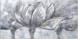 Omax Decor OMAX Decor Frosted Flowers Original Oil Painting On Canvas - M 3166