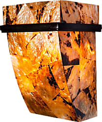 Varaluz Reclaimed Shell Big Sconce - One Light w/ Chocolate Tiger