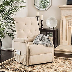 GDF Studio Christopher Knight Home 298311 Warrington Lift Up Recliner Chair, Color: Wheat