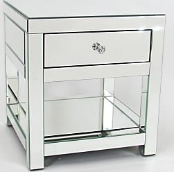 Wayborn Beveled Square Side Table with Drawer - MC102