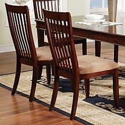 Winners Only Topaz Slat Back Dining Side Chair - Set of 2 - WIN264-1