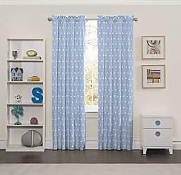 Ellery Homestyles Eclipse Kids 15937042X063BLU Cozy Cumulus 42-Inch by 63-Inch Single Window Curtain Panel, Blue