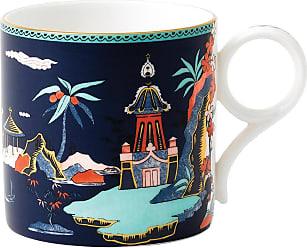 Wedgwood Wonderlust Large Mug - Blue Pagoda