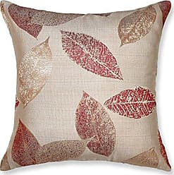 Violet Linen Luxurious Milano Arts Collection Decorative Throw Pillow, 18 x 18, Pink