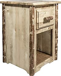 Montana Woodworks Glacier Country Collection End Table with Drawer