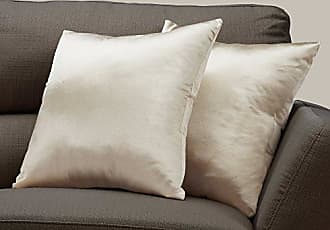 Monarch Specialties I I 9335 Throw Pillow, 18 x 18, Gold