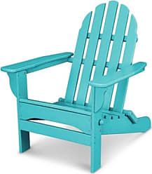 Ashley Furniture POLYWOOD Emerson All Weather Adirondack Chair, Turquoise