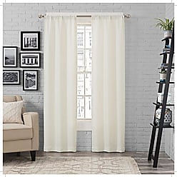Ellery Homestyles Pairs To Go 16433052063IVY Ibiza 52-inch by 63-Inch Window Panel Pair, Ivory