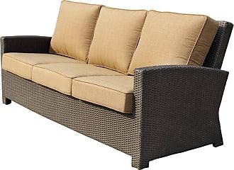 DARLEE Outdoor Darlee Vienna Wicker Sofa - 501218-9/109