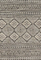 Loloi Rugs EMOREB-08GTIV77A6 Emory Area Rug, 77 x 106, Graphite/Ivory