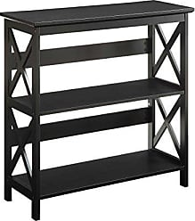 Convenience Concepts Oxford 3-Tier Bookcase, Black