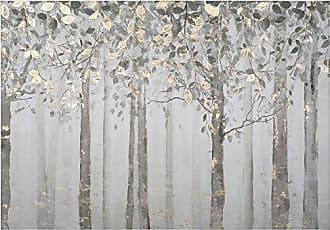 Yosemite Home Decor Yosemite Home Decor Grey and Yellow Trees, Multi