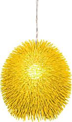 Varaluz Recycled Urchin Pendant - One Light Un-Mellow Yellow
