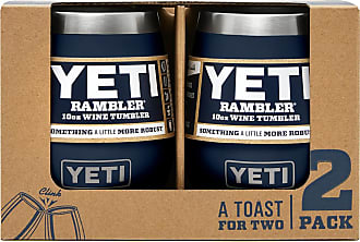 Yeti Navy 10 Oz Rambler Wine Tumbler 2-Pack