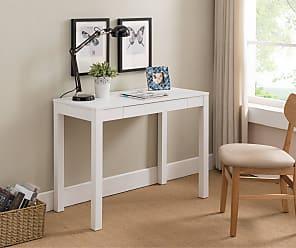 Overstock White Wood Desk
