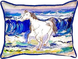 Betsy Drake SN957 Horse & Surf Pillow, 11 x14