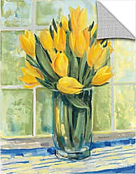 Brushstone Carol Rowan Window Floral II Removable Wall Art Mural, 18X24