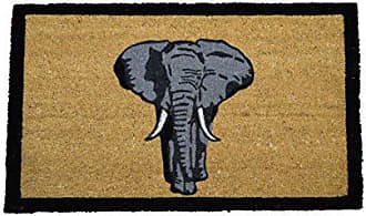 Geo Crafts G390 PVC Bleach Elephant Entry Way Doormat