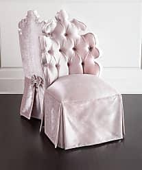 Haute House Home Isabella Blush Vanity Seat