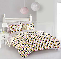 Idea Nuova Pop Shop Spotted Dots 8 pc Bed in a Bag, Full, Multi