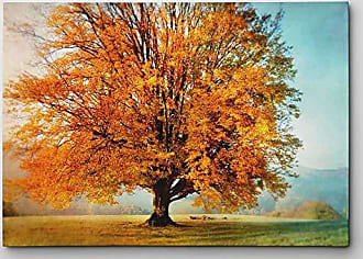 WEXFORD HOME Autumns Passion Gallery Wrapped Canvas Wall Art, 18x27